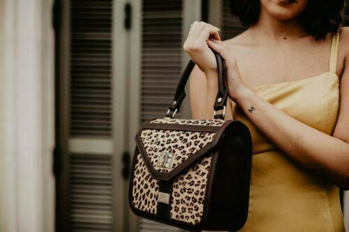 Bolsos de piel de leopardo